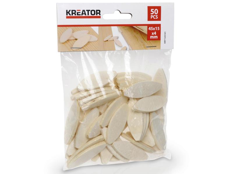 Kreator Tourillons 45x15 mm 50 pièces