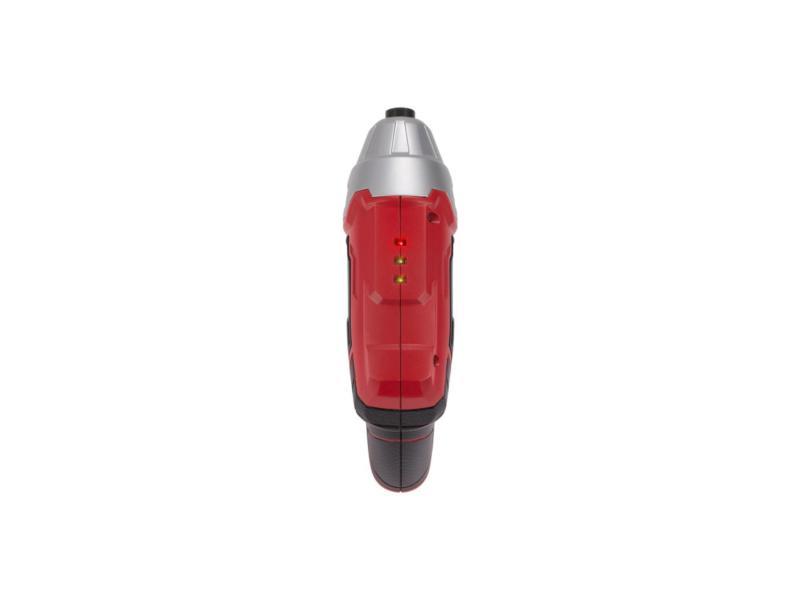 PremionPowertools Tournevis sans fil 3,6V Li-Ion rouge