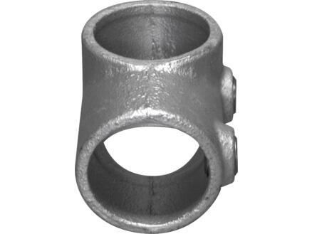 CanDo Tube échafaudage raccord-T 42mm fer