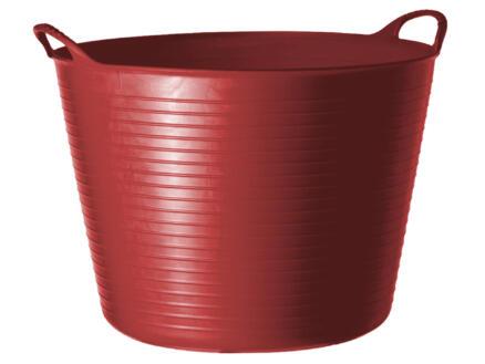 Tubtrug flexibele tuinmand 14l rood