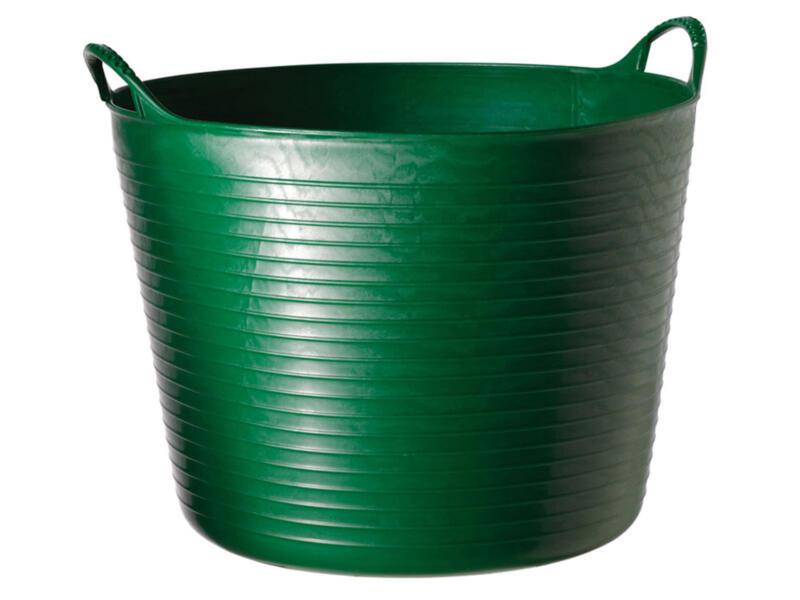 Tubtrug flexibele tuinmand 26l groen