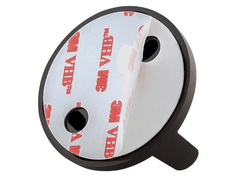 Tiger Tune WC-rolhouder metaal geborsteld/zwart