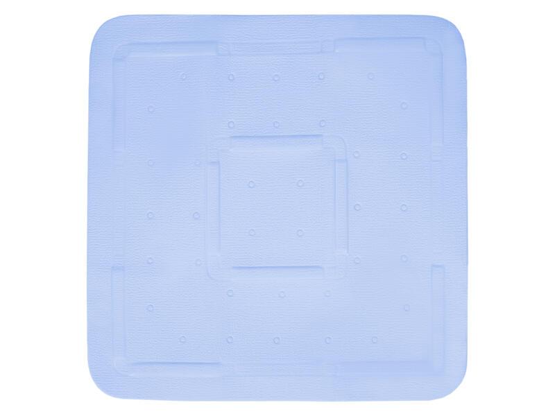 Differnz Tutus antislip douchemat 55x55 cm blauw