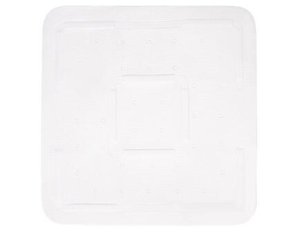 Differnz Tutus tapis antidérapant baignoire 55x55 cm blanc