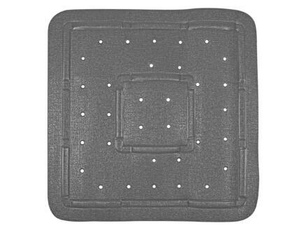 Differnz Tutus tapis de douche antidérapant 55x55 cm anthracite