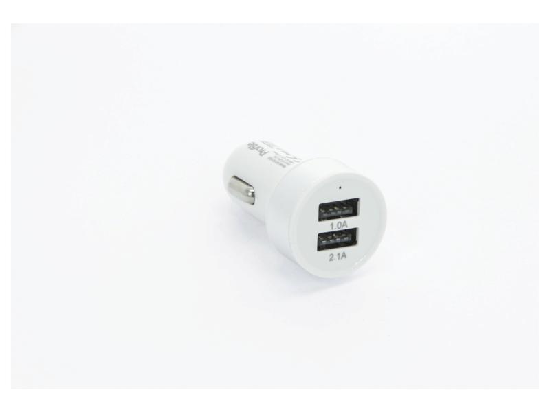 USB autolader 2xUSB 2,1A + 1A