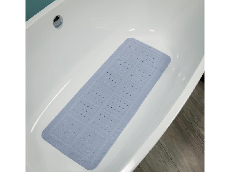 Sealskin Unilux antislip badmat 90x35 cm pastelblauw