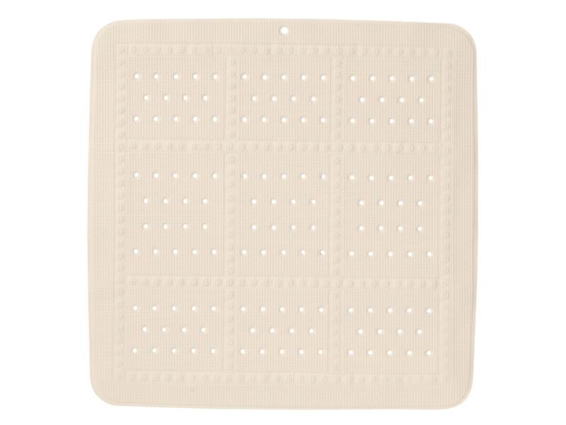 Sealskin Unilux antislip douchemat 55x55 cm beige
