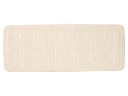Sealskin Unilux tapis antidérapant baignoire 90x35 cm beige