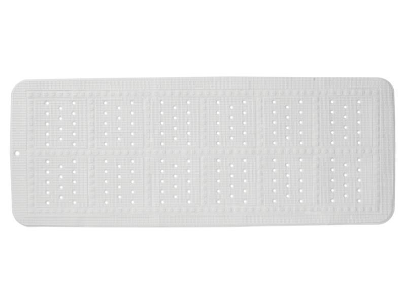 Sealskin Unilux tapis antidérapant baignoire 90x35 cm blanc