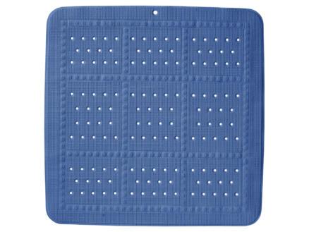 Sealskin Unilux tapis antidérapant douche 55x55 cm bleu