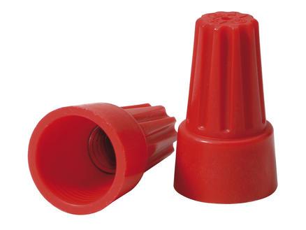 Universele lasdop 3x 2,5mm² rood 6 stuks