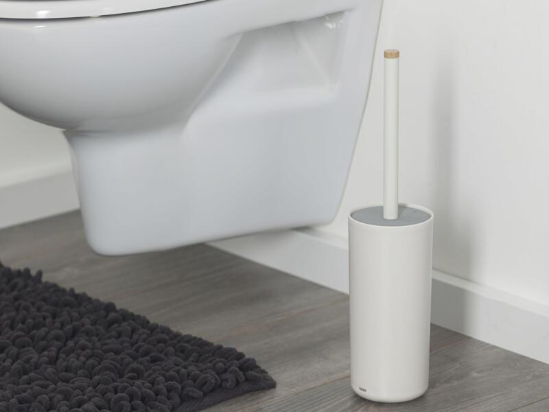 Tiger Urban brosse WC avec support blanc