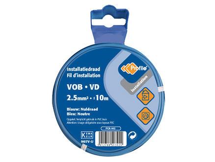 Profile VOB-kabel 2,5 blauw 10m blister