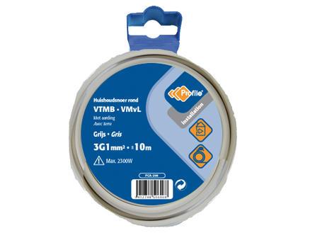 Profile VTMB 3G1 grijs 10m blister