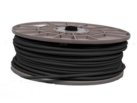 Profile VTMB-kabel 3G 1,5mm² per lopende meter zwart