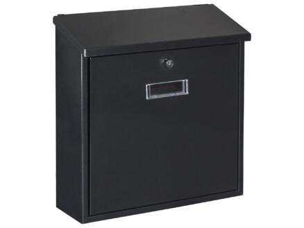 Starcko Valencia boîte aux lettres acier laqué noir