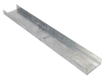 Giardino Varese poteau en U 100cm gris