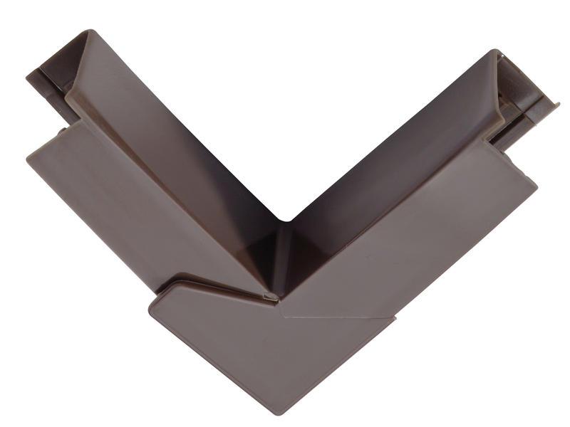 Legrand Variabele hoek DLP 20x12,5 mm bruin