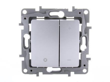 Legrand Variateur LED Niloé 3-400 W aluminium