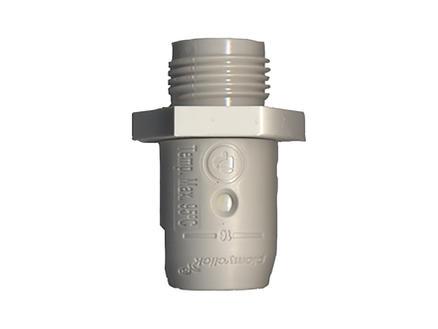 Saninstal Verloopmof Push-Clic 20mm x M 1/2