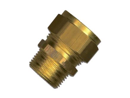 Saninstal Verloopmof knelkoppeling M 3/4