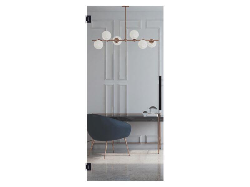 Solid Vetro porte intérieure C000 211x83 cm