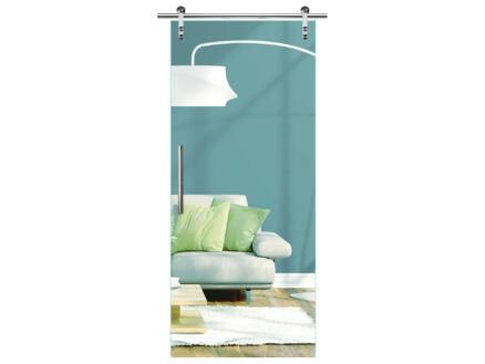 Solid Vetro porte intérieure coulissante verre C000 215x93 cm