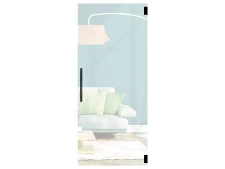 Solid Vetro porte intérieure en verre va-et-vient C001 201x78 cm