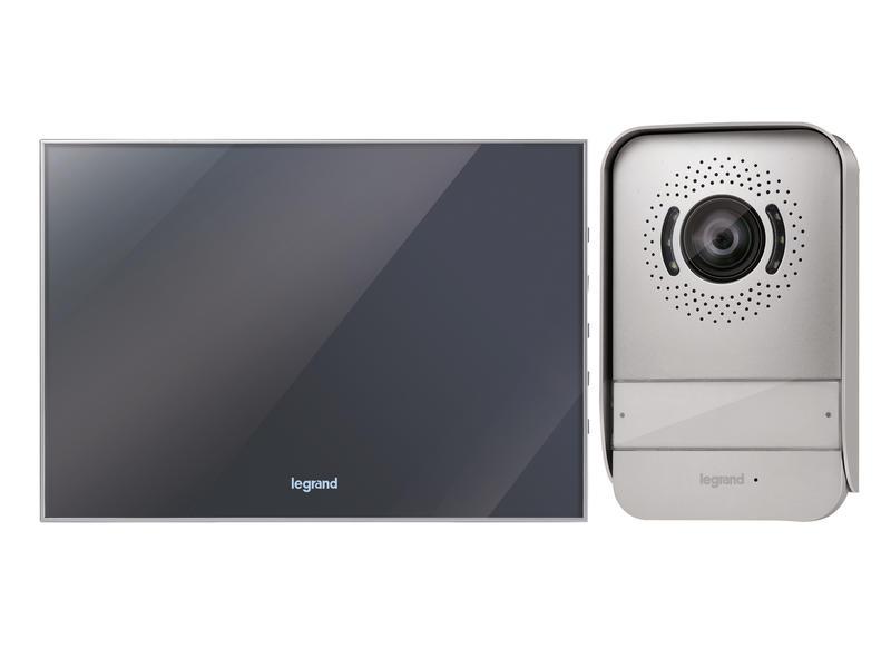 Legrand Videofoonkit spiegelafwerking 2-draads 7inch