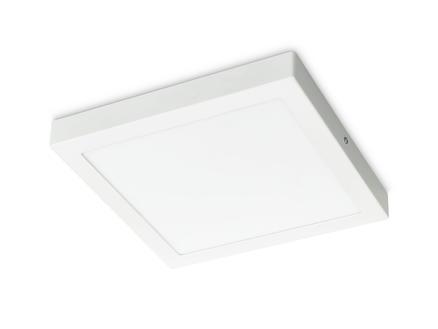 Prolight Villo plafonnier LED carré 24W blanc