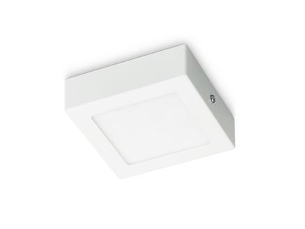 Prolight Villo plafonnier LED carré 6W blanc