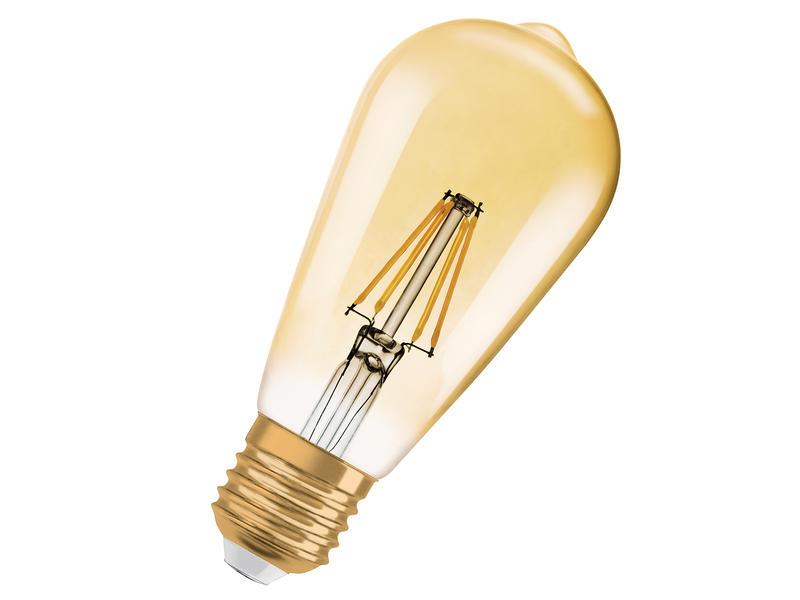 Osram Vintage 1906 LED Edison-lamp E27 4W