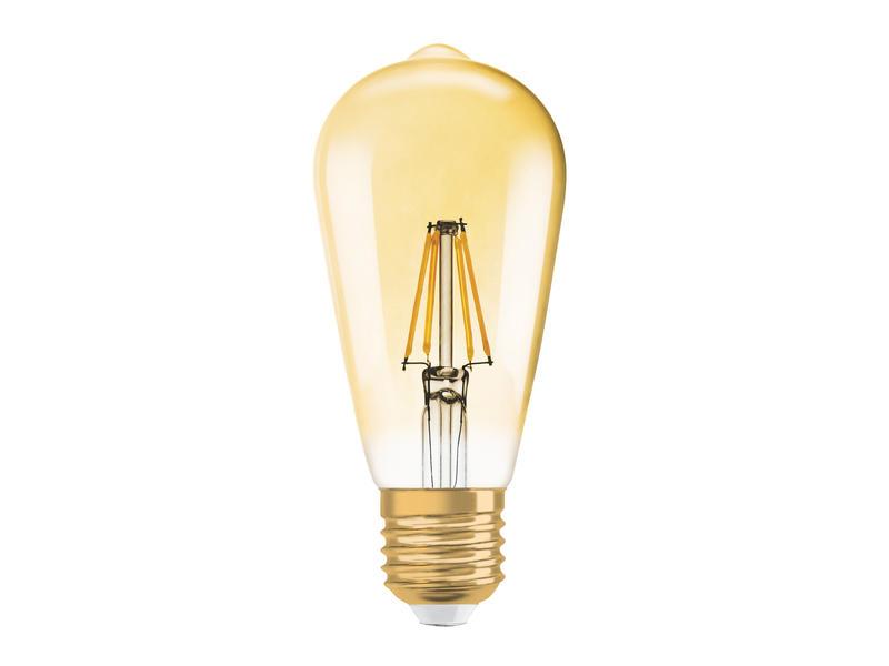 Osram Vintage 1906 ampoule LED Edison E27 7W dimmable