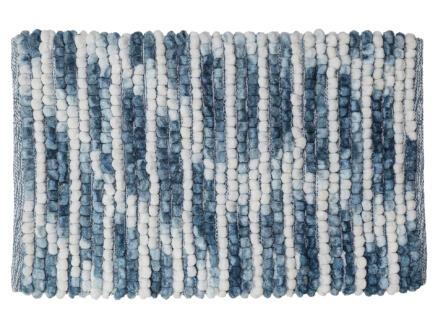 Sealskin Vintage badmat 80x50 cm blauw