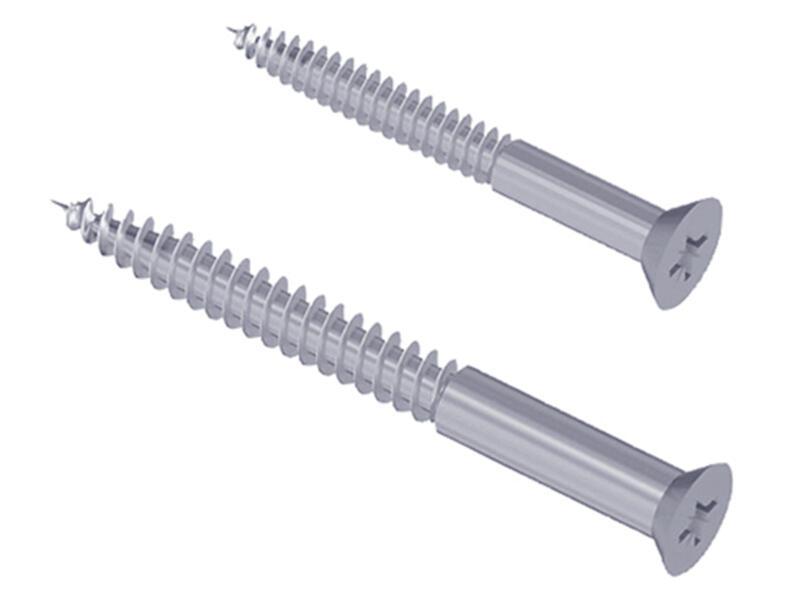 Vis 30x3,5 mm 48x3,5 mm 2x20 pièces