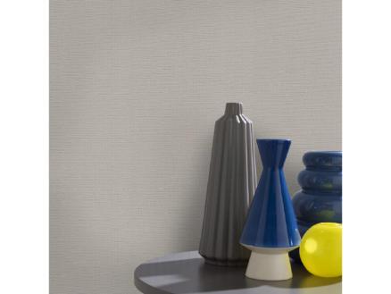 Superfresco Easy Vliesbehang Textiel uni lichtgrijs