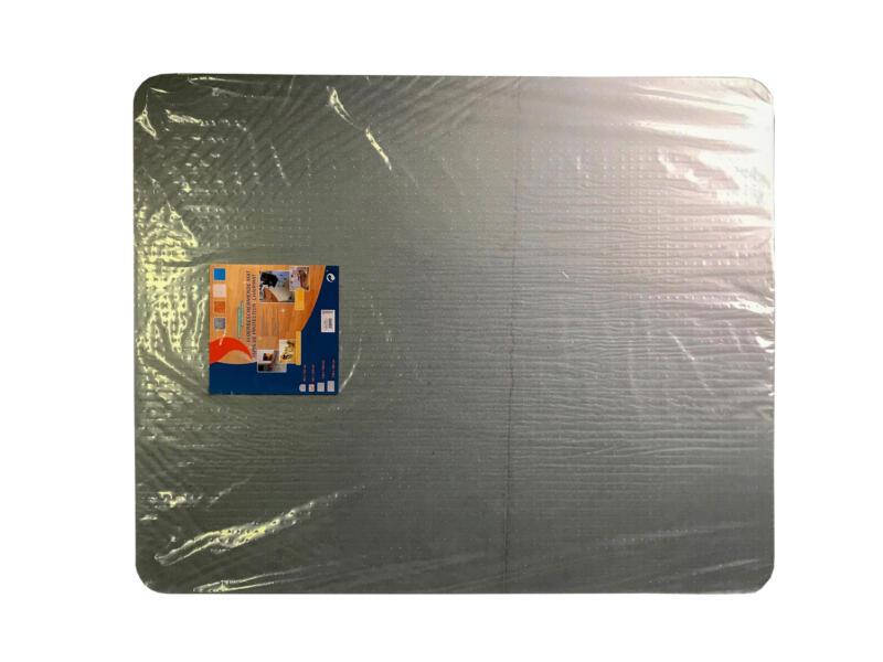 Vloerbeschermingsplaat 120x90 cm polycarbonaat