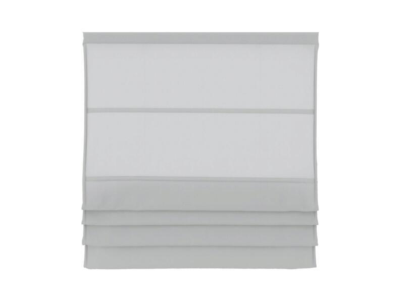 Decosol Vouwgordijn lichtdoorlatend 140x180 cm wit