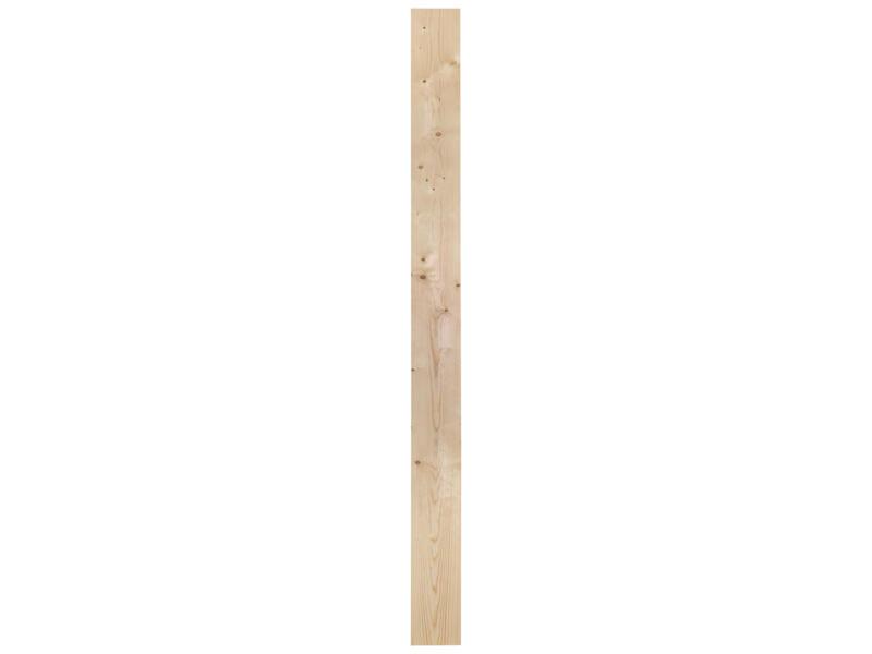 Vurenhout geschaafd 12x140 mm 210cm