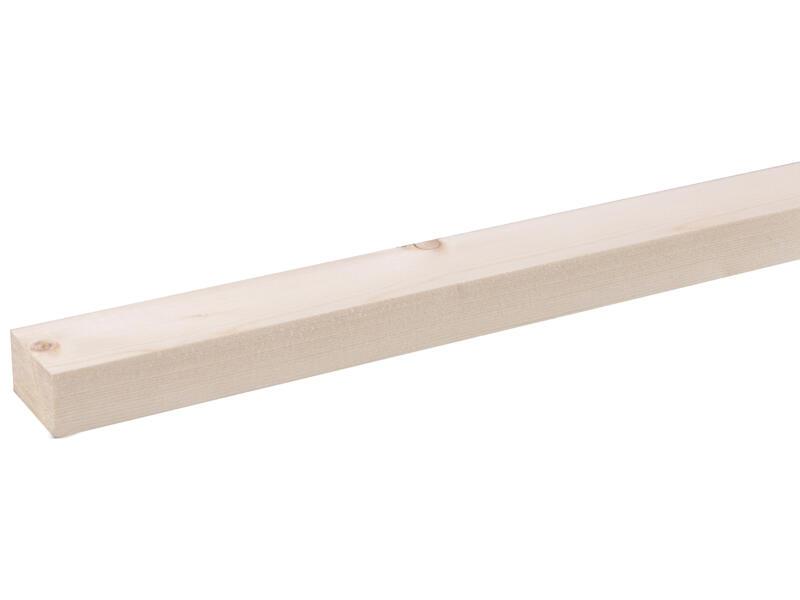 Vurenhout geschaafd 18x27 mm 270cm