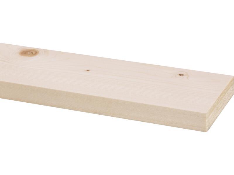 Vurenhout geschaafd 18x69 mm 270cm