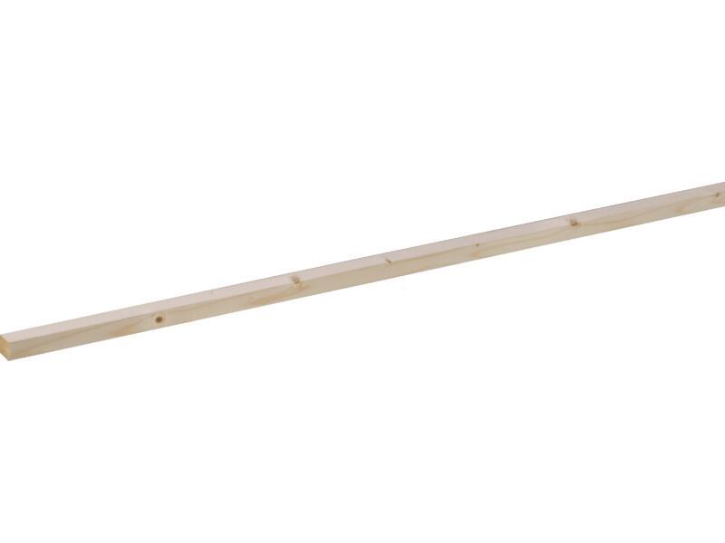 Vurenhout geschaafd 27x27 mm 210cm