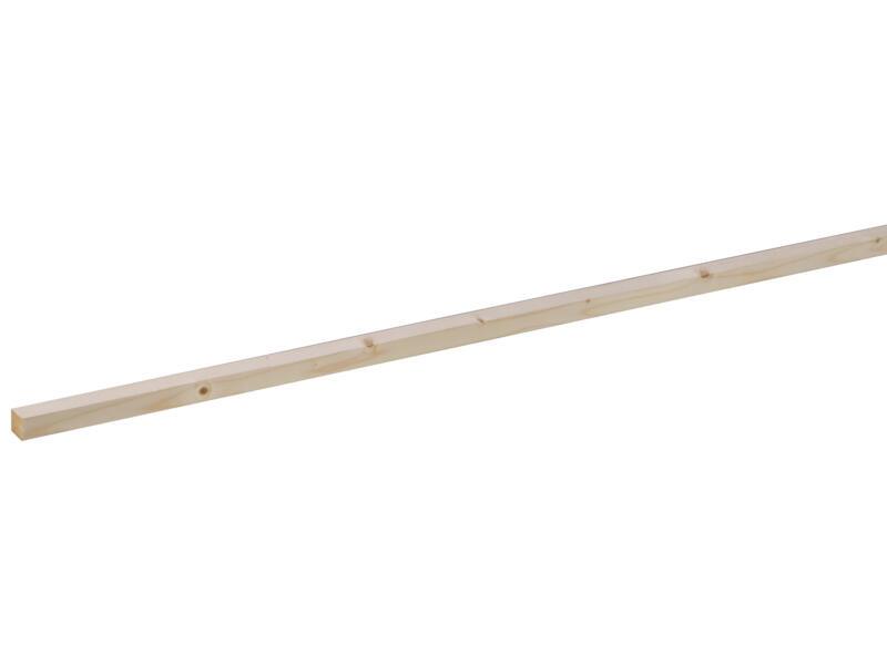 Vurenhout geschaafd 27x27 mm 270cm