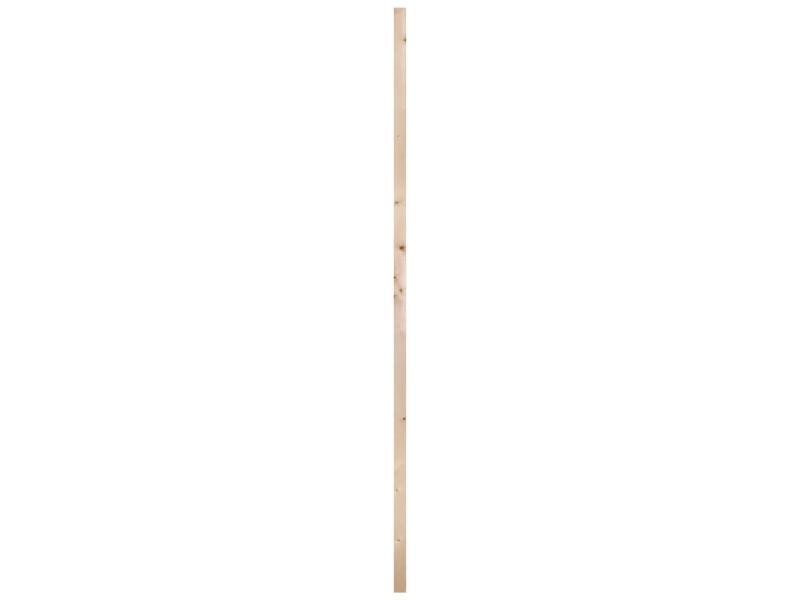 Vurenhout geschaafd 27x44 mm 210cm