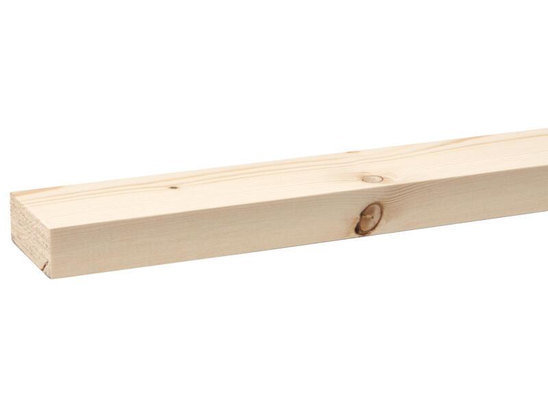 Vurenhout geschaafd 27x68 mm 270cm
