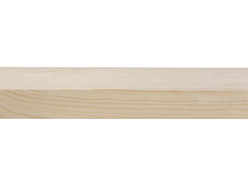 Vurenhout geschaafd 34x55 mm 270cm