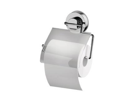 WC-rolhouder met klep transparant