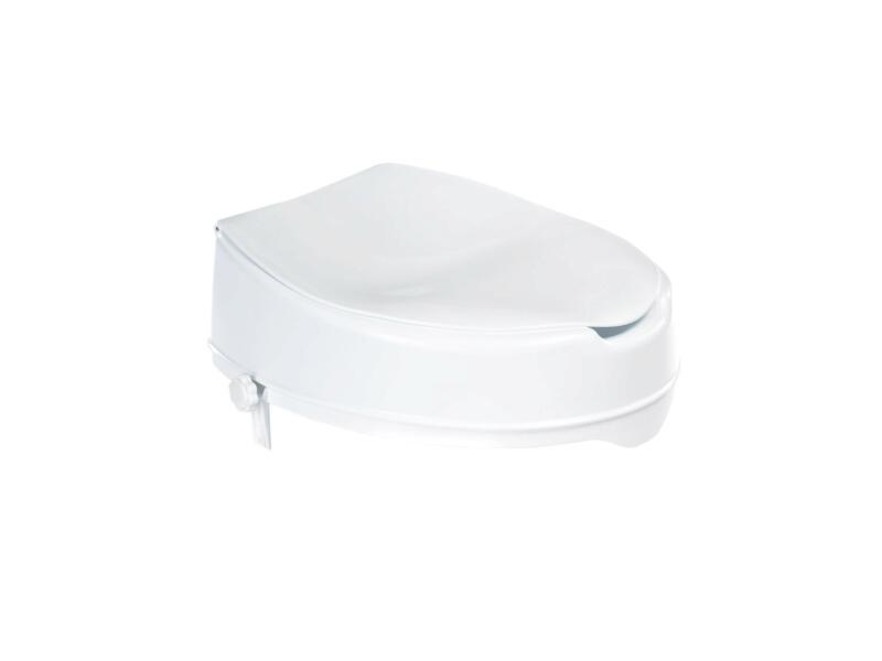 WC-verhoger 10cm met WC-bril wit