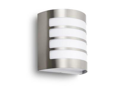 Prolight Wandlamp inox E27 exclusief lamp